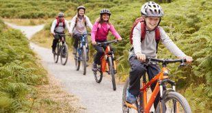 Familienausflug - Fahrradtour mit Kind