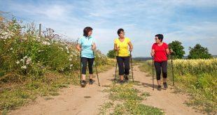 Drea Damen beim Nordic Walking - Nordic Walking Bekleidung für Damen