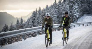 Radfahrer im Winter - Fahrrad-Winterbekleidung