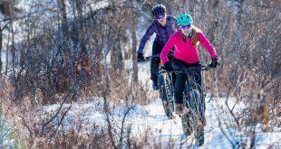 Radtour im Winter