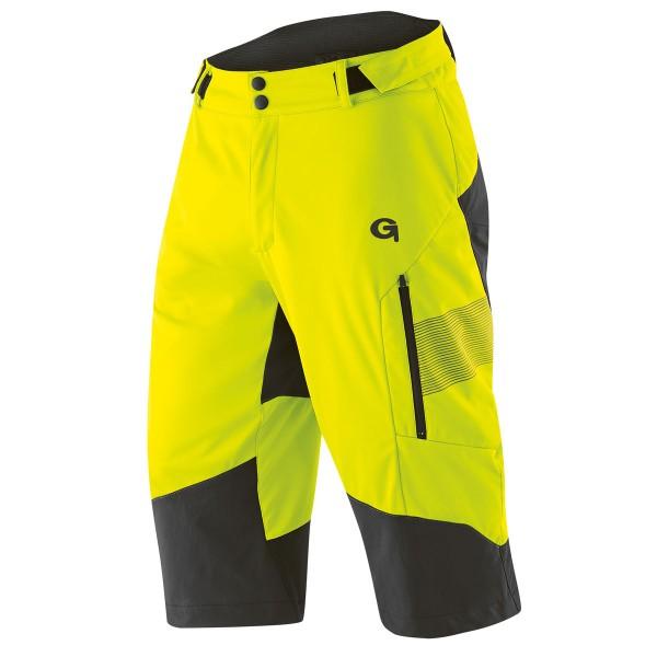 Gonso Sirac Herren Softshell-Überhose safety yellow