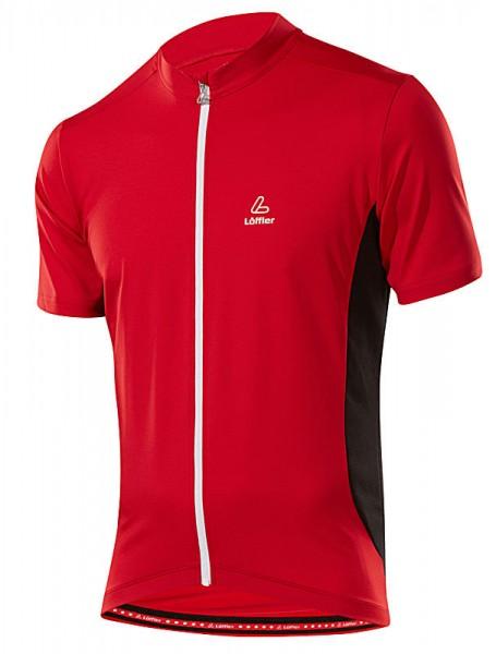 Löffler Herren Bike-Shirt FZ rot