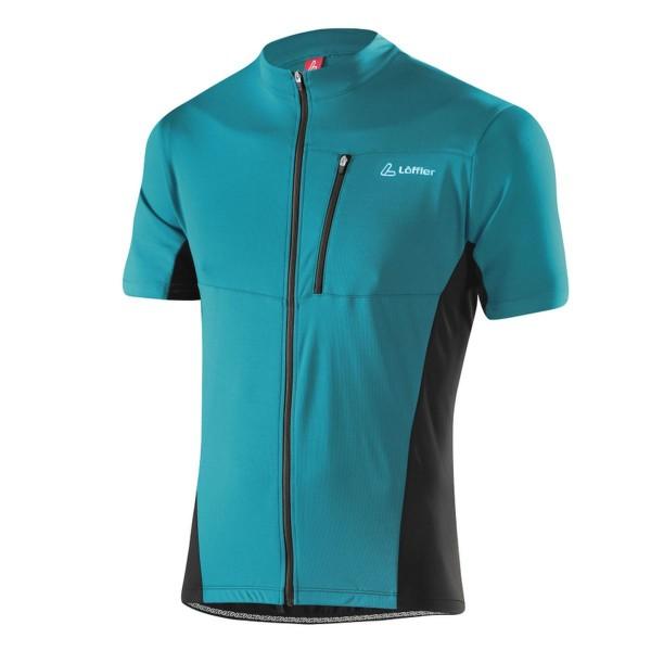 Löffler Herren Bike-Shirt Rocky FZ enamel blue