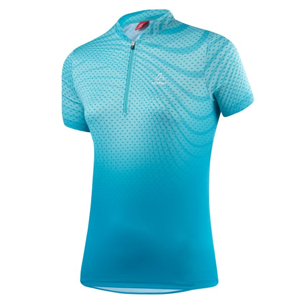 Löffler Damen Bike-Shirt Java topaz blue