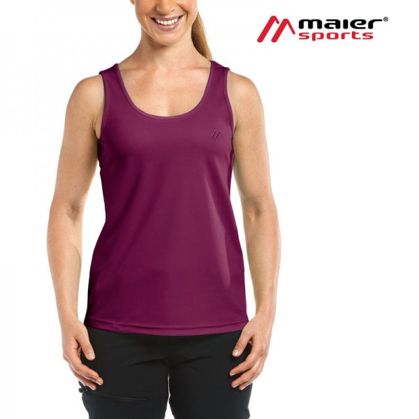 Maier Sports Petra Funktionstop Damen dark purple 483