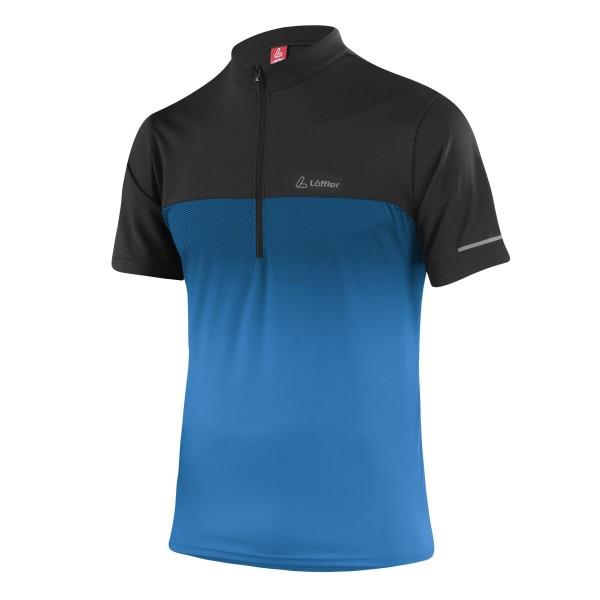 Löffler Herren Bike-Shirt Flow brilliant blue