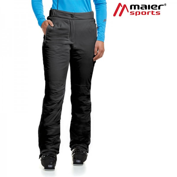 Maier Sports Vroni slim Skihose Damen black