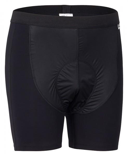 Gonso Herren Rad-U-Pants Franco black mit Windschutz