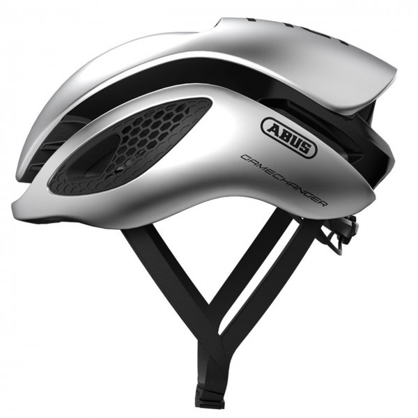 Abus Fahrradhelm GameChanger gleam silver