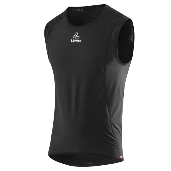 Löffler Transtex® Windstoppper® Singlet Light Herren schwarz