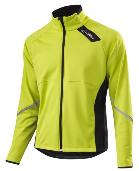 Löffler Herren Bike Jacke Windstopper® Softshell-Warm hellgrün