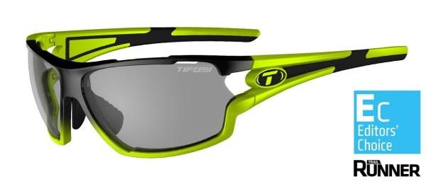 Tifosi Sportbrille Amok race neon smoke Fototec
