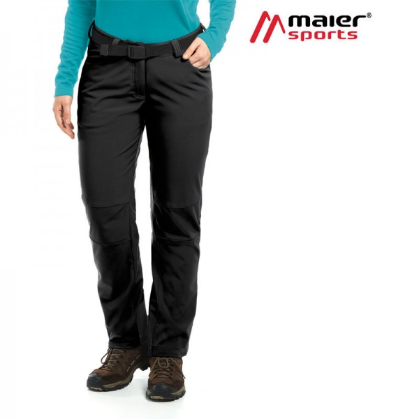 Maier Sports Tech Pants W Softshellhose Damen black
