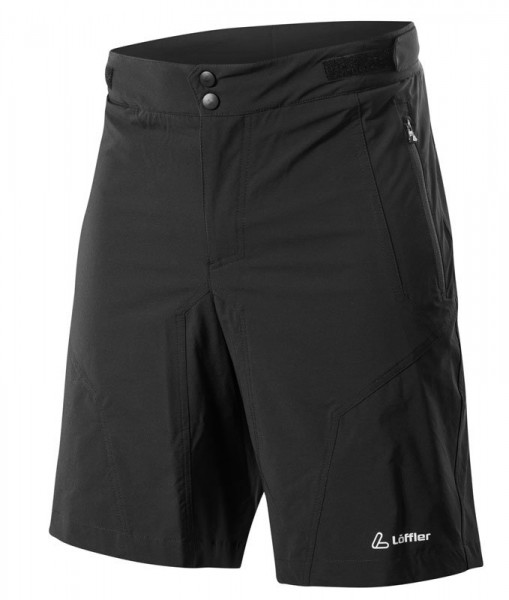 Löffler Herren Bike Shorts Tourano CSL black
