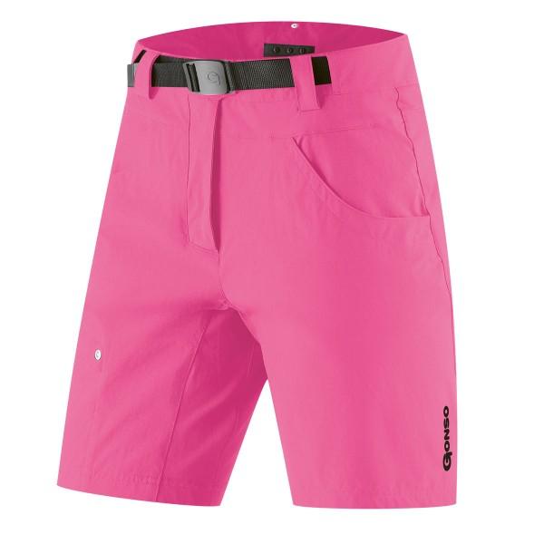 damen bikeshort pink gonso