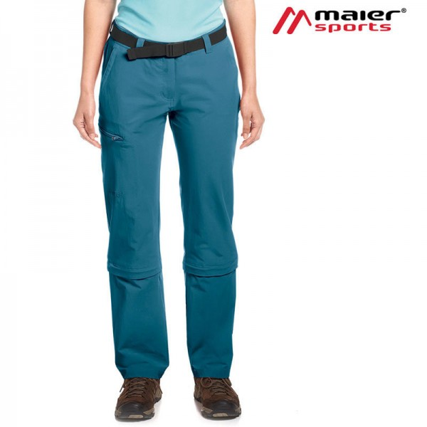 Maier Sports Arolla Zipp-Hose Damen indian teal