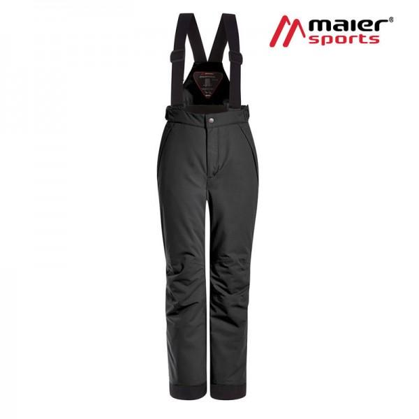 Maier Sports Maxi Slim mitwachsende Skihose Kinder black