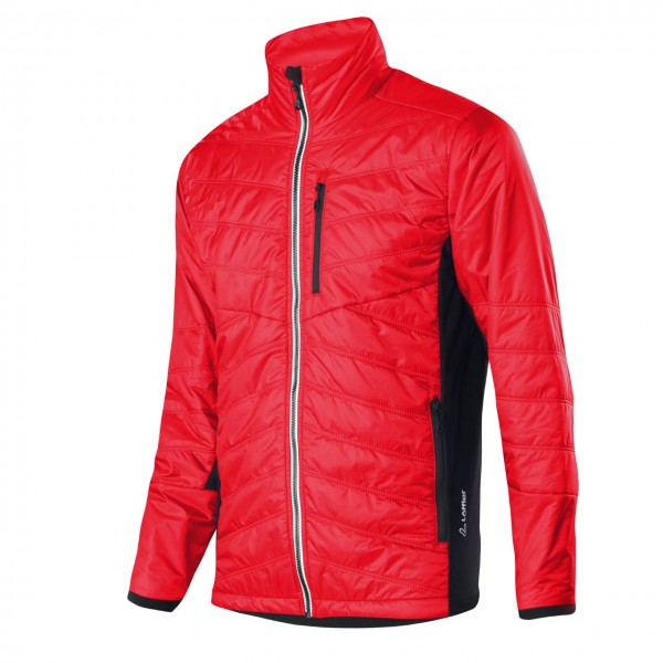 Löffler Jacke Winter Primaloft Hotbond red