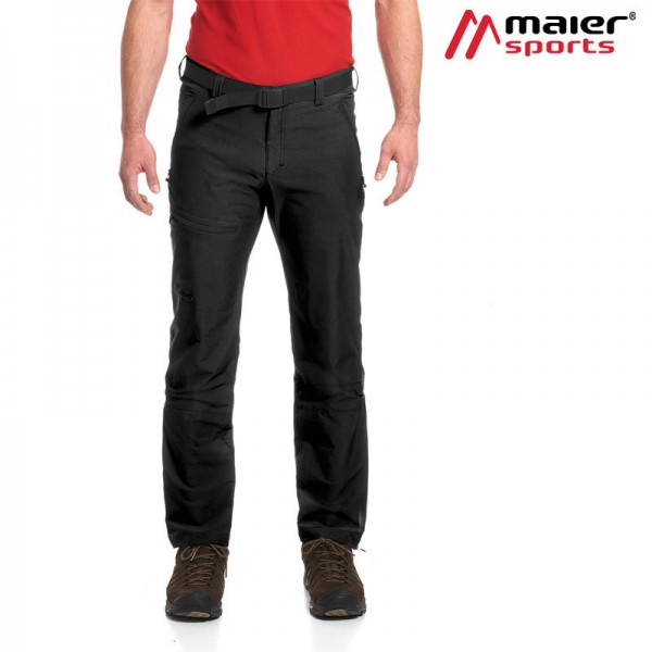 Maier Sports Naturno light M Herren black