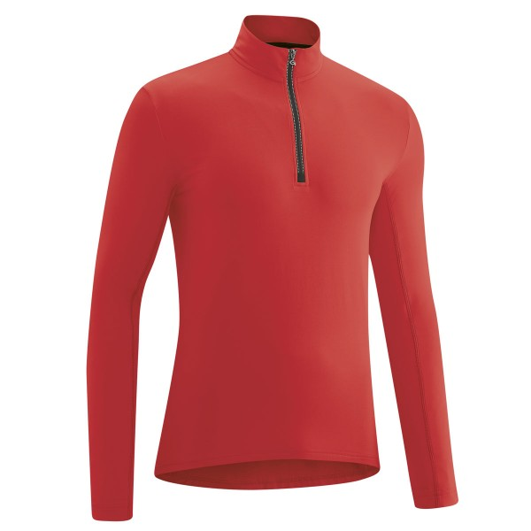Gonso Herren Langarm Radtrikot Christian high risk red