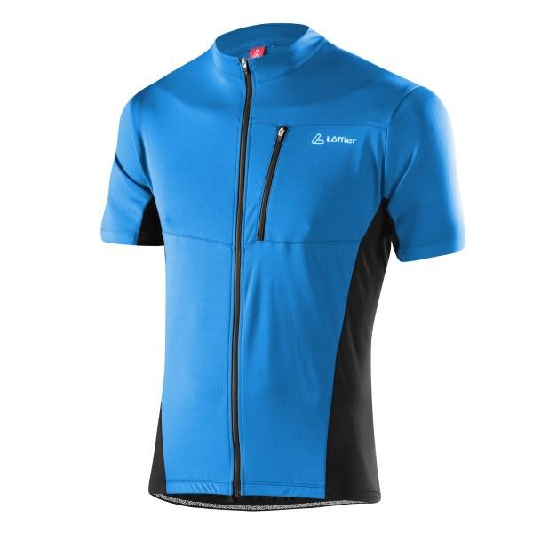 Löffler Herren Bike-Shirt Rocky FZ brillant blue