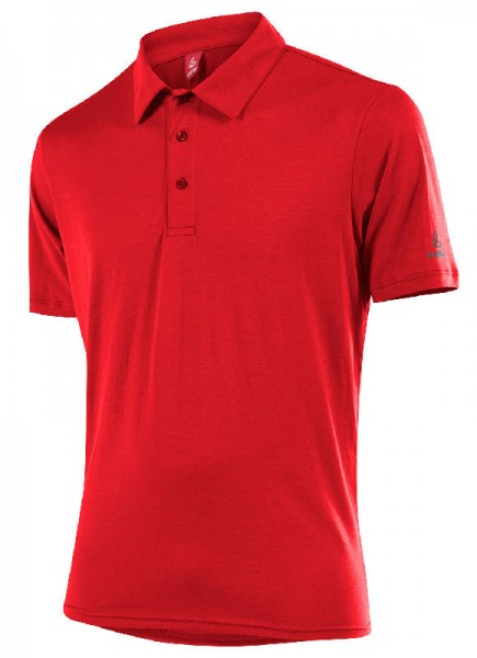 Löffler Herren Poloshirt Transtex® Single CF red