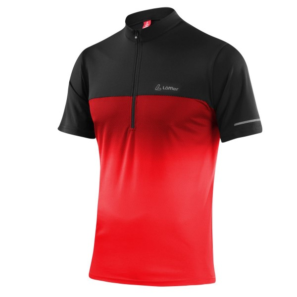 Löffler Herren Bike-Shirt Flow rot