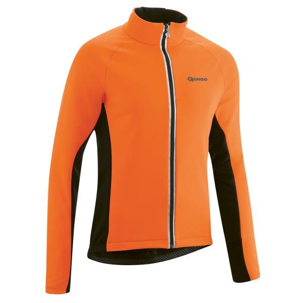 Gonso Diorit Herren Thermo-Jacke red orange/black