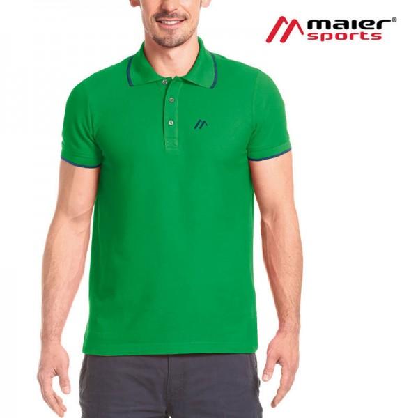Maier Sports Comfort Polo M Herren fern green
