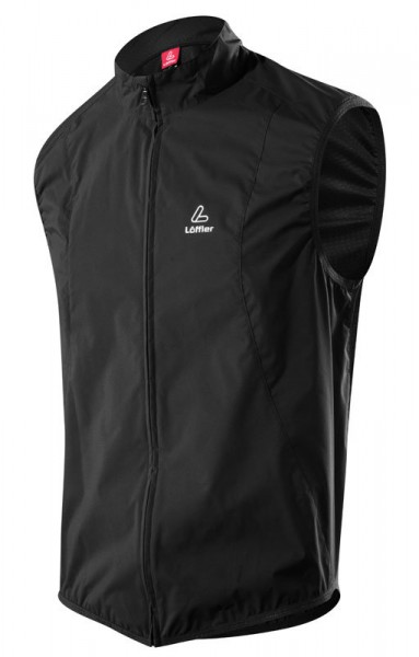 Löffler Herren Bike Weste Windstopper® Active black