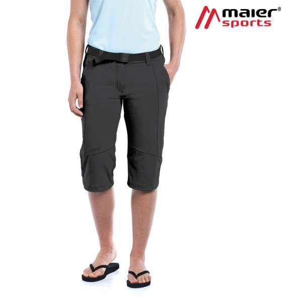 Maier Sports Kluane Caprihose Damen black