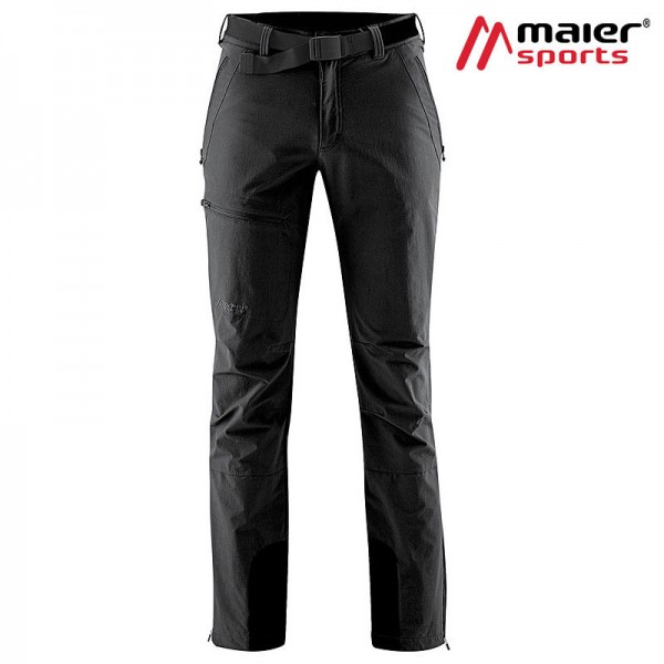 Maier Sports Naturno Softshellhose Herren black