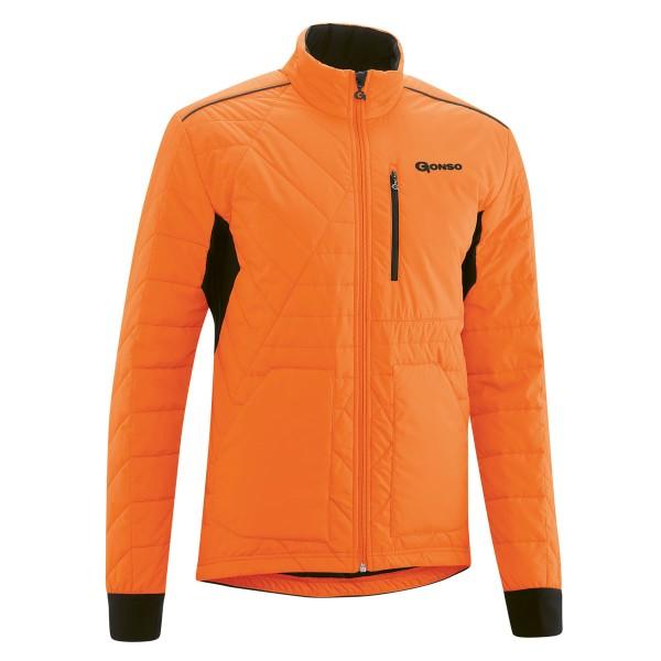 Gonso Herren Thermo-Bike-Jacke Mula red orange