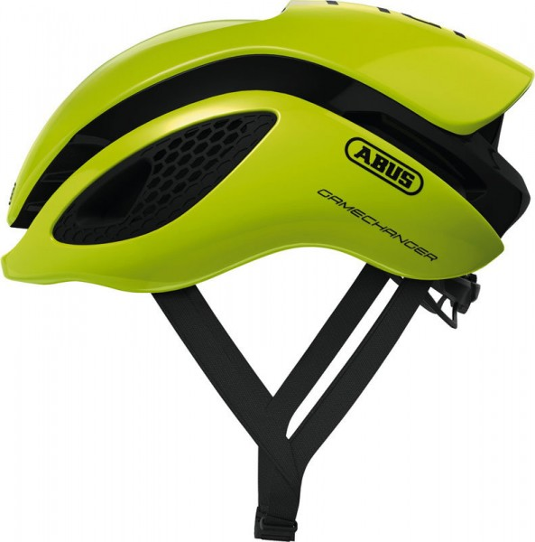 Abus Fahrradhelm GameChanger neon yellow