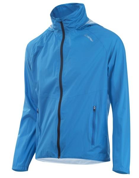 Löffler Hood WPM Pocket CF Herren Regenjacke brillant blue