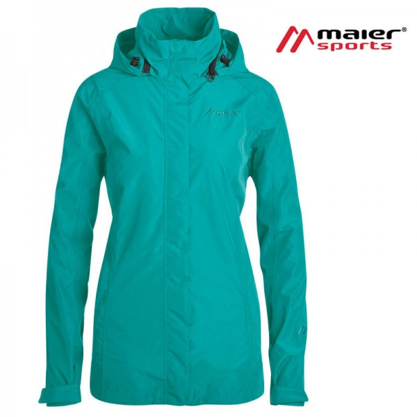 Maier Sports Altid W long Outdoorjacke Damen viridian green