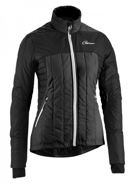 Gonso Gardner V3 Damen Thermo-Bike-Jacke black