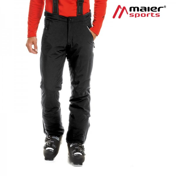 Maier Sports Skihose Slim Copper Herren black
