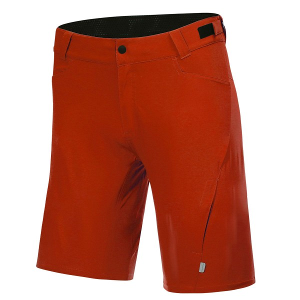 Protective Herren Bike-Short P-Valley fire red
