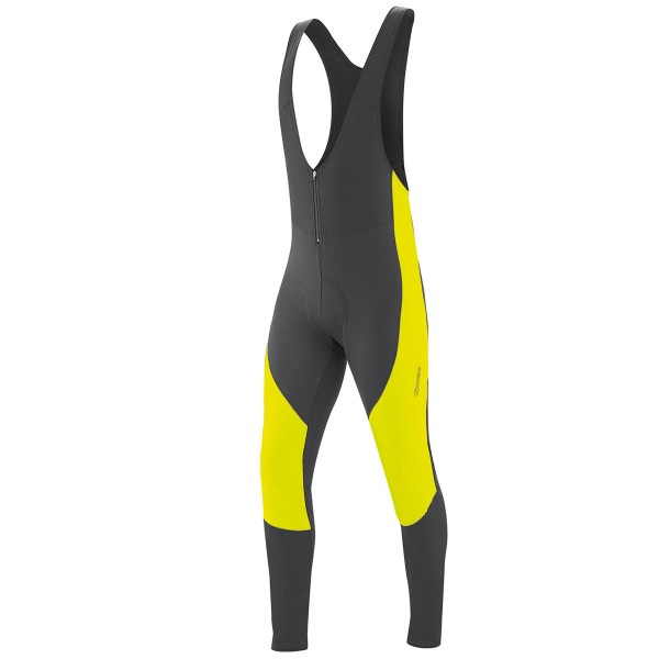 Gonso Herren Thermo Träger-Radhose Montana bib safety yellow