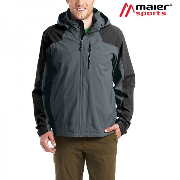 Maier Sports Thordis Funktionsjacke Herren graphite