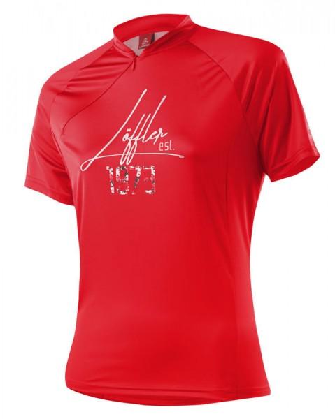 Löffler Damen Bike-Shirt 1973 Hz red