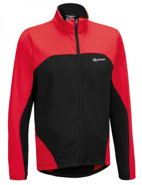Gonso Kinder Thermo-Active-Jacke Bonny fire