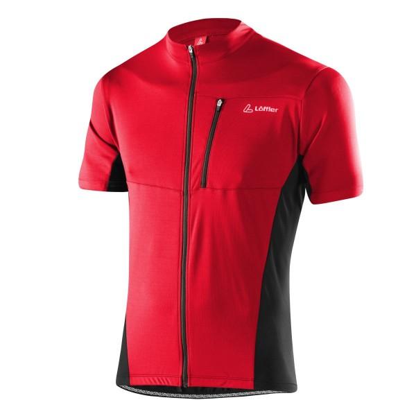 Löffler Herren Bike-Shirt Rocky FZ rot