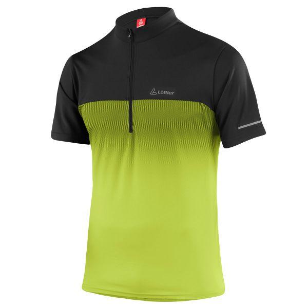 herren bikeshirt loeffler flow green