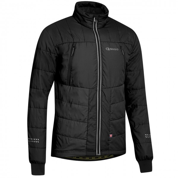 Gonso Herren Thermo-Bike-Jacke Buchit M black