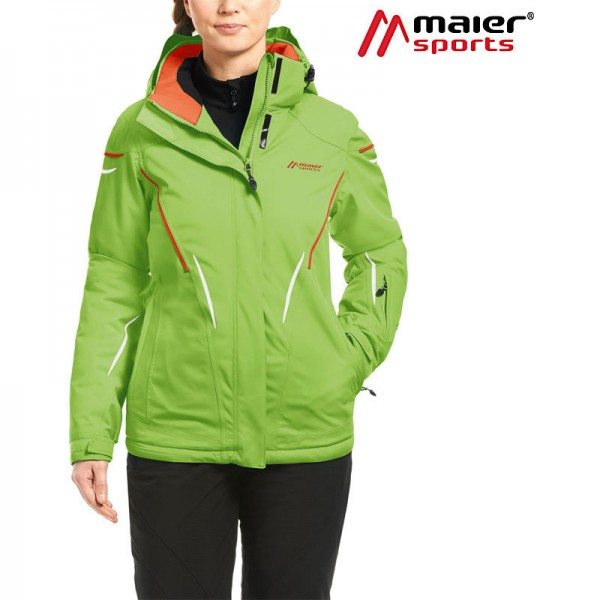 Maier Sports Calgary Skijacke Damen green flash