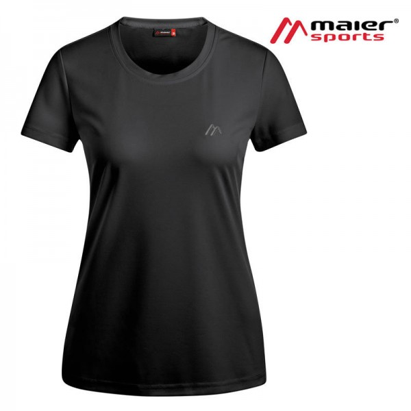 Maier Sports Waltraud Funktionsshirt Damen black