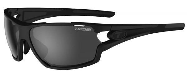 Tifosi Sportbrille Amok matte black smoke/AC red/clear