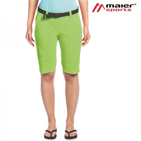 Maier Sports Lawa Damen Funktionsbermuda greenery
